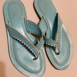 Lilly Pulitzer Robin Blue Shoe Sz9